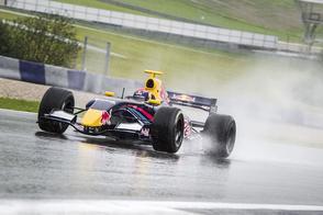 Max Verstappen met Toro Rosso op VKV City Racing