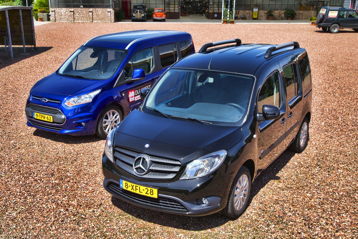 Dubbeltest ford tourneo connect mercedes benz citan for Www mercedes benz com connect