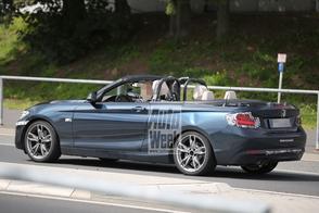 BMW 2-serie Cabrio met de kap omlaag