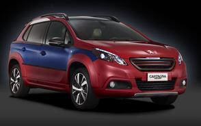 Weelderig aangeklede Peugeot 2008
