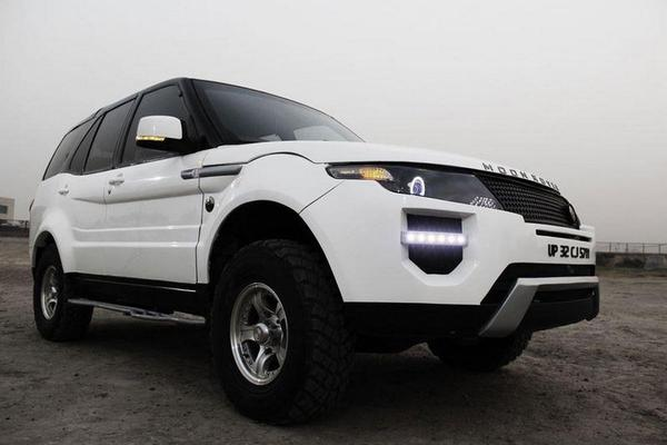 Tata Safari Moon Rover