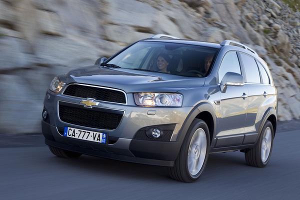 Chevrolet Captiva Styling Package