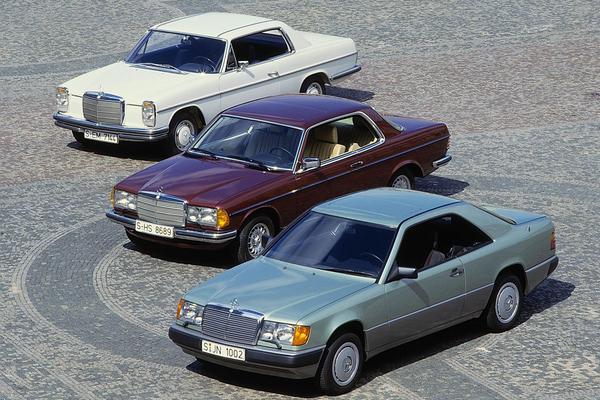 Mercedes-Benz generaties