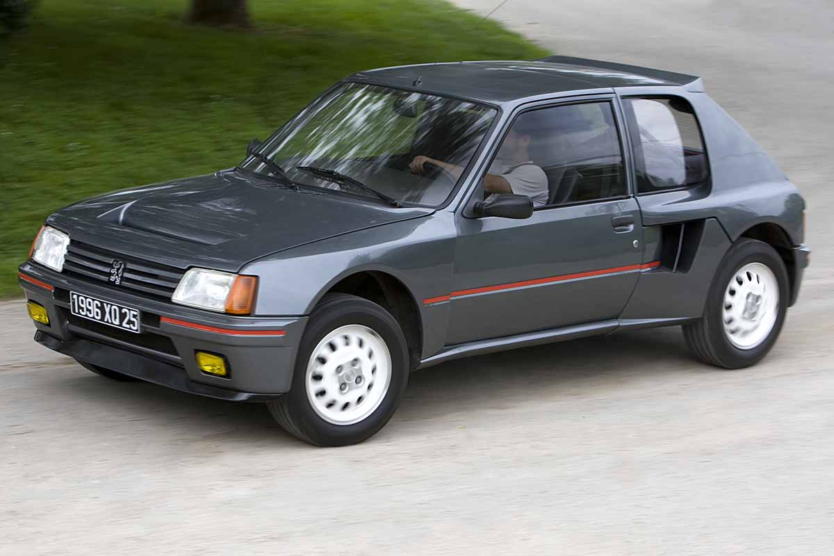 vrimibolide peugeot 205 turbo 16 autonieuws. Black Bedroom Furniture Sets. Home Design Ideas