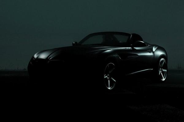 BMW Zagato Roadster teaser