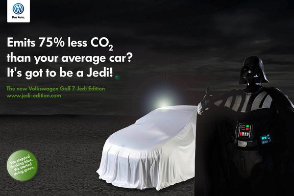 Volkswagen Golf VII by Greenpeace