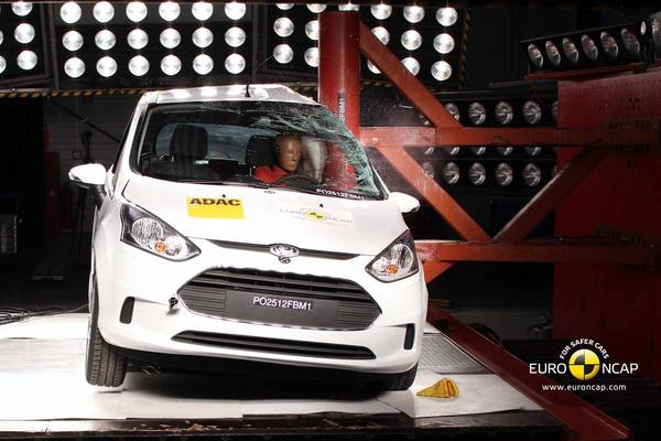 Ford B-Max EuroNCAP