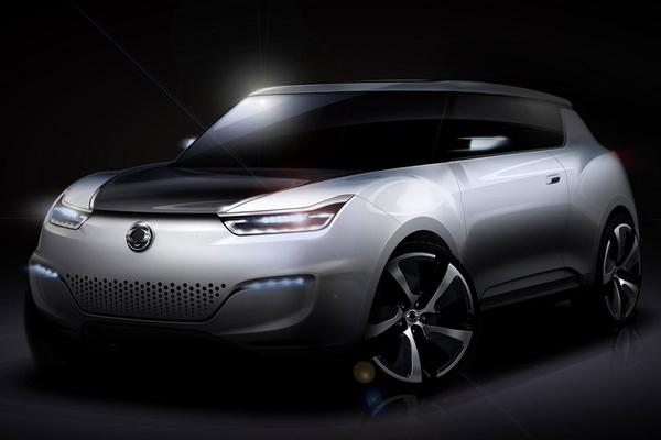 SsangYong e-XIV Concept
