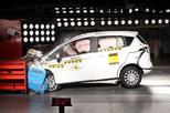 Crashtest Ford B-MAX