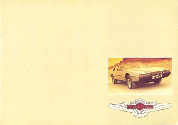 Brochure Aston Martin Lagonda