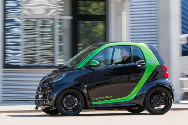 smart BRABUS electric drive coup�