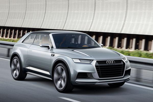 Audi crosslane coup� concept car