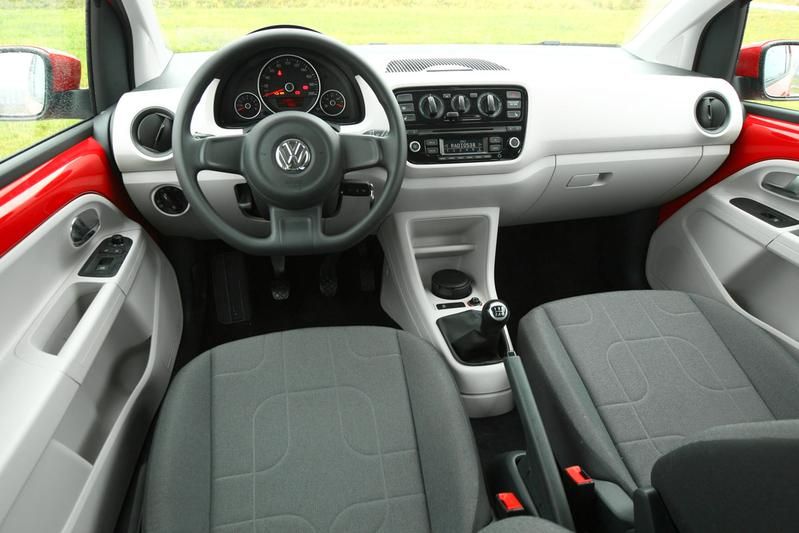 Volkswagen up 1 0 75pk move up 2012 autotests for Interieur up