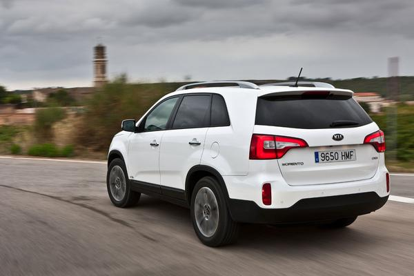 Kia Sorento facelift