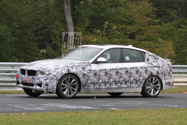 BMW 3 GT Spyshots