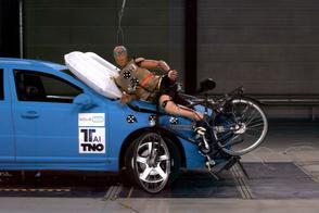 Volvo's gaan met fietsers communiceren