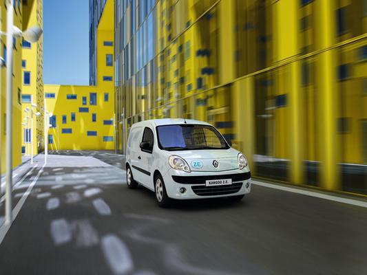 Renault Eletrisch Rijden