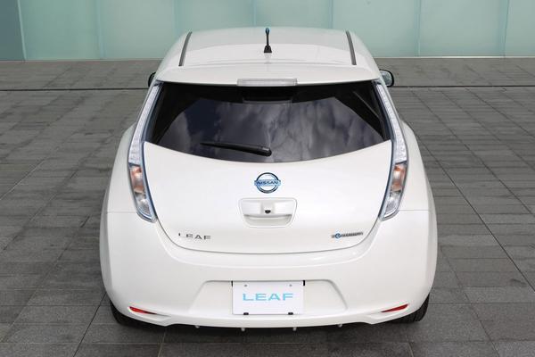 Nissan Leaf bijgeschaafd