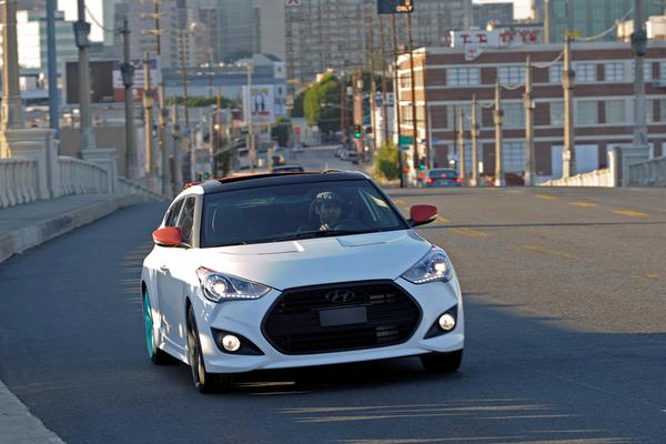 Hyundai Veloster C3 Rolltop concept