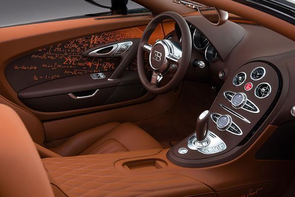 Bugatti Veyron Grand Sport by Bernard Venet