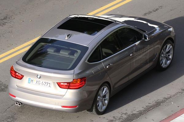 BMW 3-serie GT Spyshots