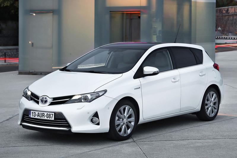 toyota maakt auris hybrid zuiniger autonieuws. Black Bedroom Furniture Sets. Home Design Ideas
