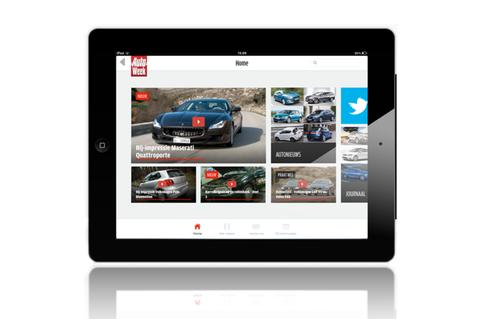 AutoWeek iPad app
