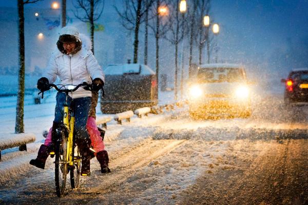 Sneeuw in Nederland (foto: ANP)