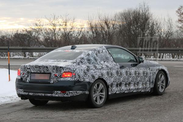 BMW 4-serie spyshots