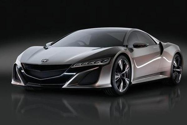 Acura NSX Concept gelekt