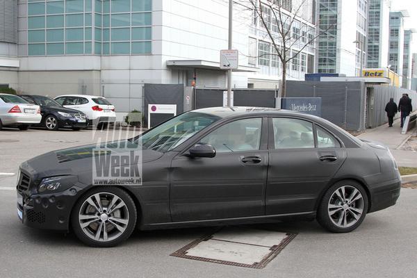 Mercedes-Benz C-klasse spyshots