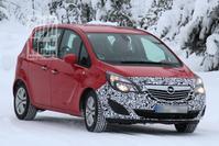 Opel Meriva facelift