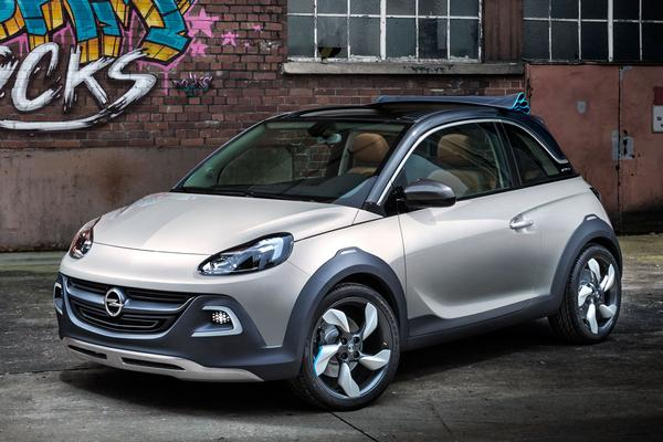 39 opel adam rocks komt in 2014 op de markt 39 autonieuws. Black Bedroom Furniture Sets. Home Design Ideas