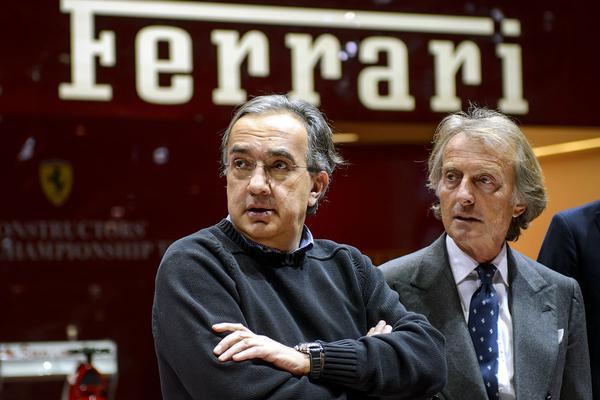 'Sergio Marchionne wil ook CEO Ferrari worden'