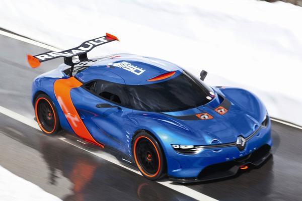 Renault gaat Alpine in 2016 bouwen