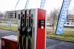 Verkoop diesel en lpg op dieptepunt