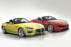 Mazda MX-5 basis voor Abarth, niet Alfa Romeo