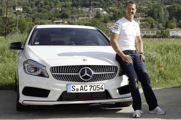 Michael Shumacher naar Mercedes