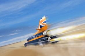Rolls-Royce doet mee met Bloodhound recordauto