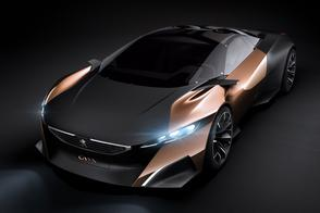 Peugeot Onyx: oude kranten op Goodwood