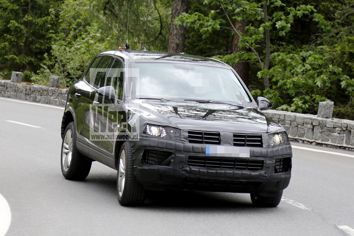 2015 Volkswagen Touareg Spy …