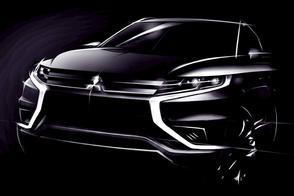 Mitsubishi Outlander PHEV Concept S naar Parijs