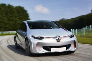 Renault Eolab Concept rijdt 1 op 100
