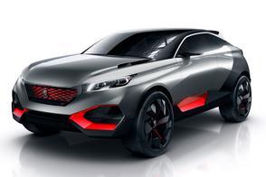 Peugeot Quartz Concept is beul van een SUV