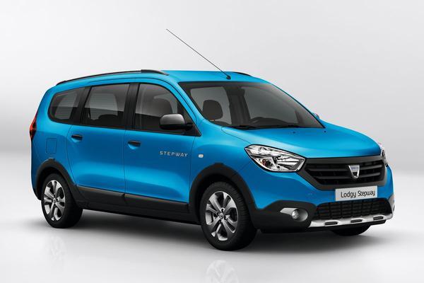 Dacia Lodgy Stepway: modderbad geprijsd