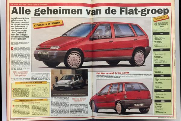 Toen in het nieuws: geheimen van de Fiat-groep