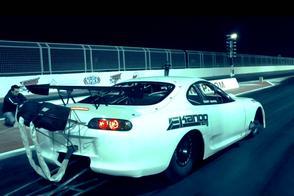 Witte kogel: Toyota Supra naar wereldrecord