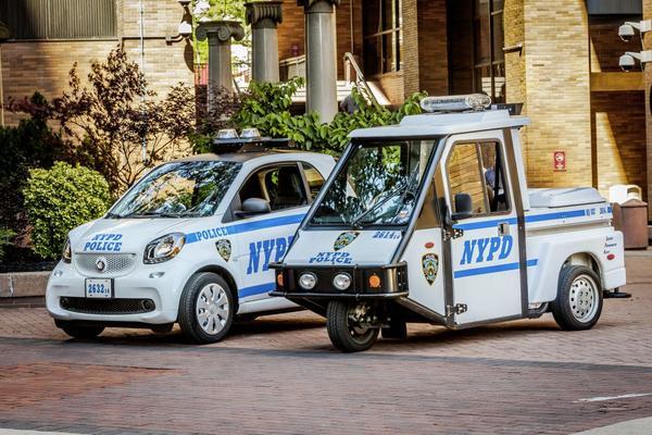 Smart ForCops: 250 Fortwo's voor politie New York