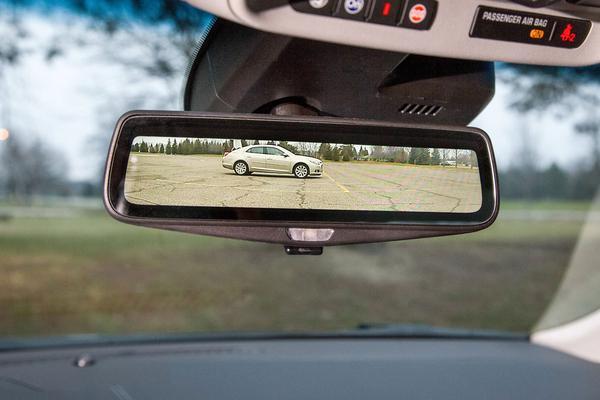 Spiegelloze binnenspiegel voor Cadilliac CT6