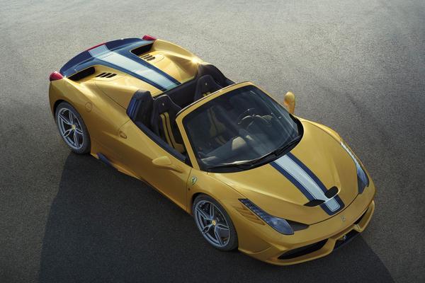 En de Ferrari 458 Speciale A kost...
